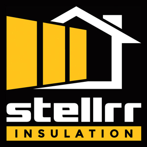 Stellrr Insulation & Spray Foam Logo